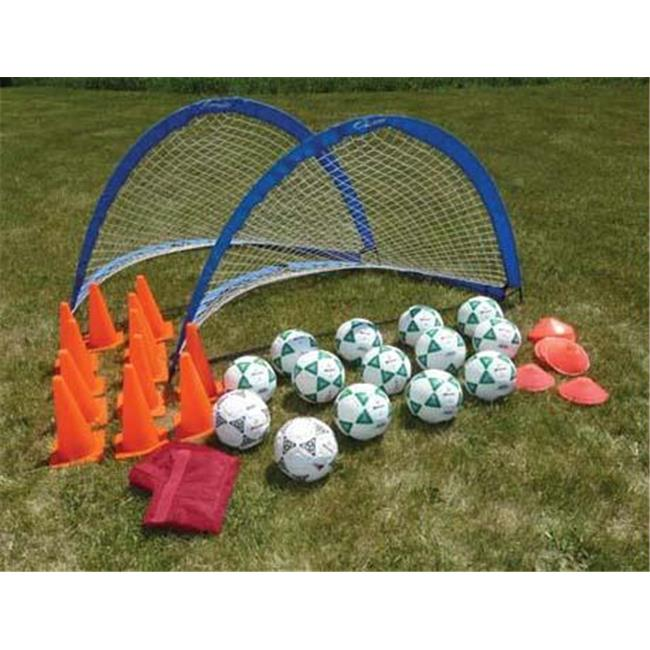 Olympia Sports KT135P Deluxe 2 Goal Value Pack-Size 5 Balls - image 1 de 1