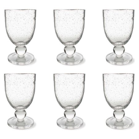 (Tag Bubble Goblet Glass - Set of 6)