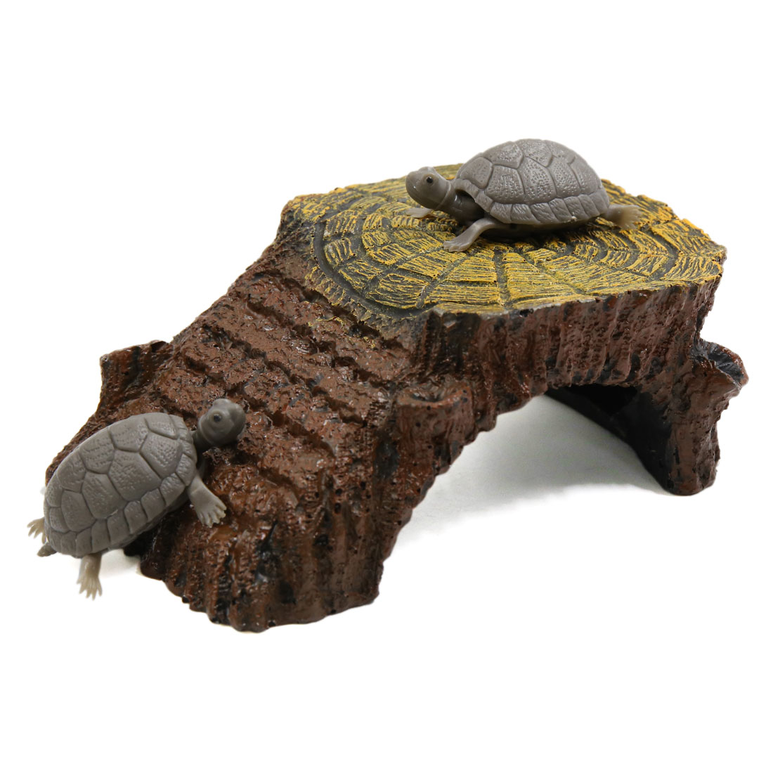 Resin Climb Ramp Habitat Hut Aquarium Landscape Decoration for Aquatic Tortoise