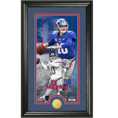 New York Giants Highland Mint (New York Giants Eli Manning Highland Mint 12