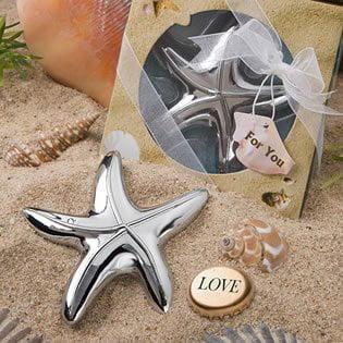 Starfish Design Bottle Opener Wedding Favors, 20, 3