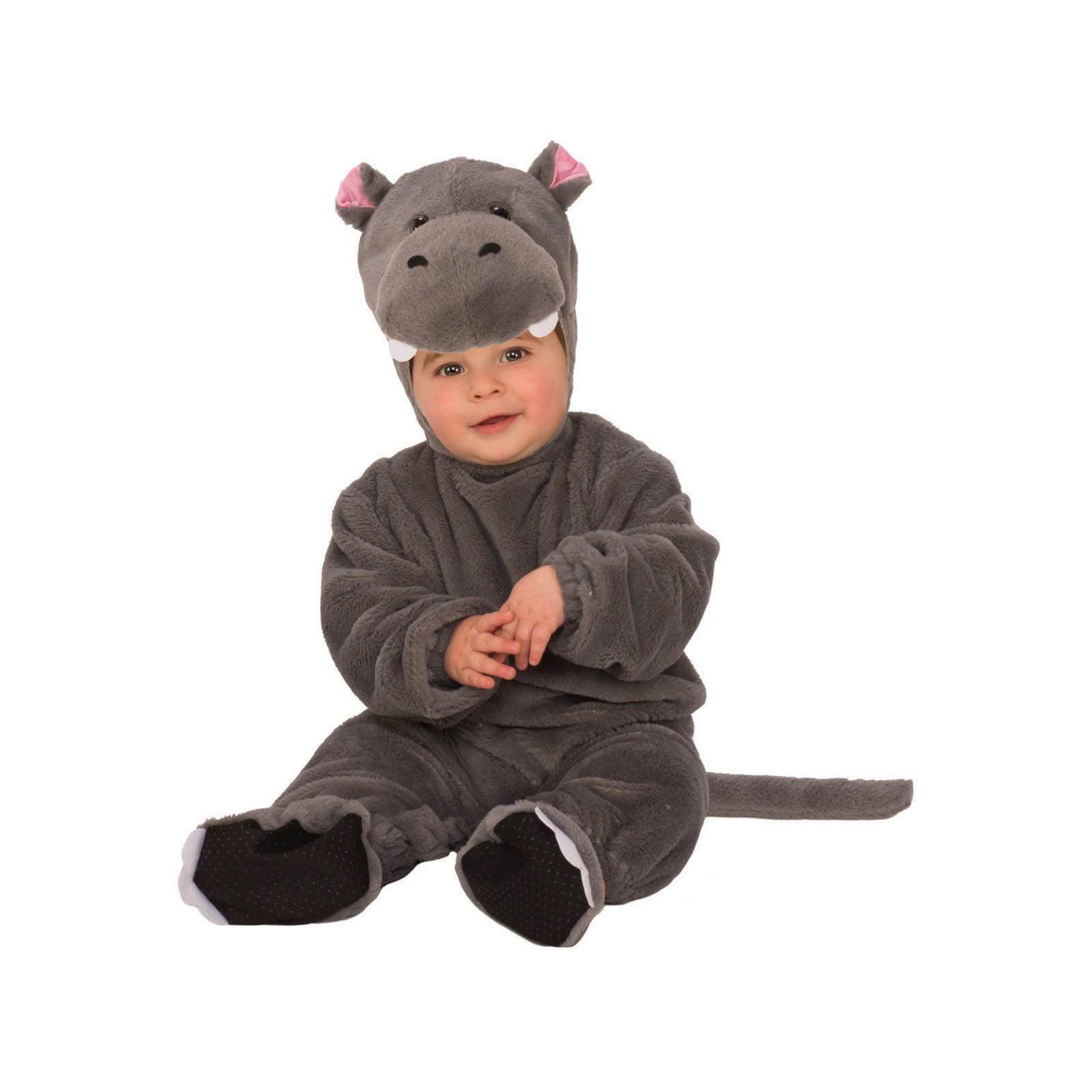 Infant Baby Huggable Hippo Hippopotamus Animal Costume