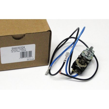 Thermostat Blue Wire >> Broan Nutone S99030324 Adjustable Thermostat For 240 Volt Wall