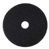 "3M 22"" Floor Pad 7200 Low-Speed Stripper, Black, 5 count"