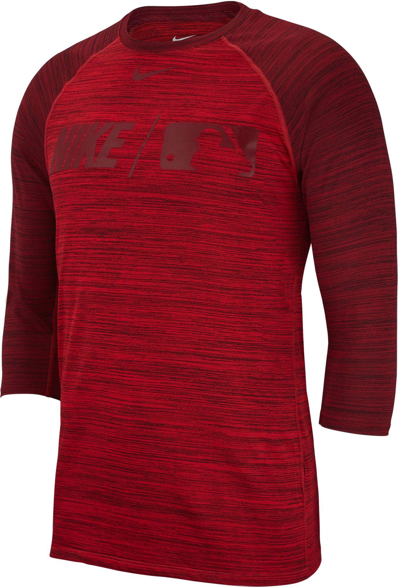 cupón reinado Interpretativo  Nike - Nike Men's Dry MLB 3/4 Sleeve Baseball T-Shirt - Walmart.com -  Walmart.com