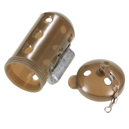 Mini Fishing Bait Cage Feeder Block End Fishing Lure Cage Fish Bait Lure Holder Fishing Tackle Fishing Accessories - image 4 of 7