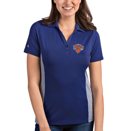 00b232183d6 Antigua - New York Knicks Antigua Women's Venture Polo - Royal/White -  Walmart.com