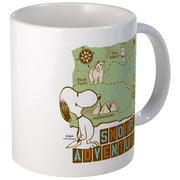 CafePress Snoopy Adventure Mugs Unique Coffee Mug, Coffee Cup CafePress by