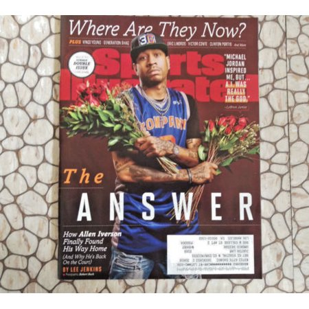 1980 Sports Illustrated Magazine - Sports Illustrated Magazine July 3 - 10 2017 Allen Iverson 76ers Vince Young