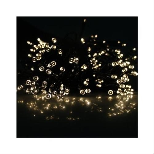 AGPtek Warm White Solar Power 100 LED 17M (55ft) String Fairy Light For Indoor and Outdoor Home Garden Christmas