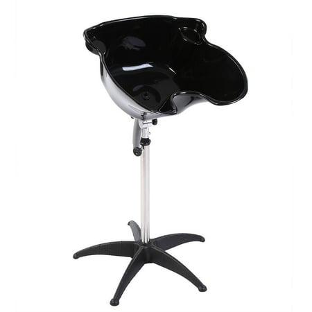 Ejoyous Portable Salon Hair Basin Barber Backwash Stainless Steel Shampoo Hair Treatment , Barber Shampoo Bowl, Hair Treatment Bowl (Salon Shampoo For Fine Hair)