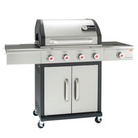 Landmann Precision 4-Burner Propane Gas Grill with Side Burner