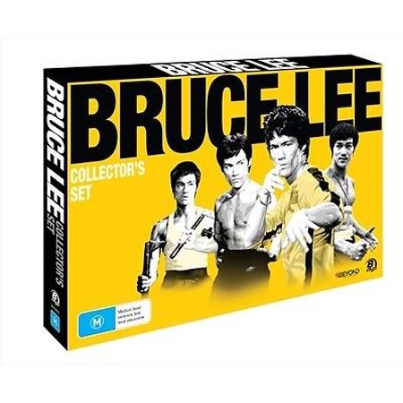 Pal Format - Bruce Lee Collection - 8-DVD Box Set ( Bruce Lee's Game of Death / Meng long guo jiang / Jing wu men / Tang shan da xiong / Si wang ta / Bruce Lee, th [ NON-USA FORMAT, PAL, Reg.0 Import - Australia ]