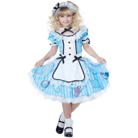 Alice Child Halloween Costume - Alice Madness Returns Halloween Costume