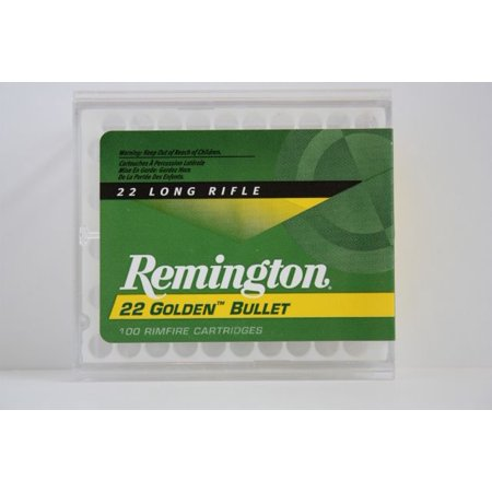 Remington 100 pack Golden Bullet High Velocity 22LR