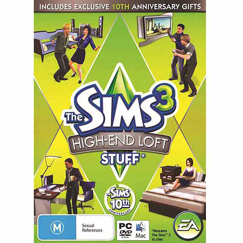 Electronic Arts Sims 3: High-End Stuff Expansion Pack (Digital Code)