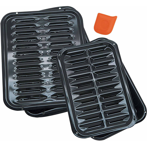5-Piece Porcelain Broiler Pan Set