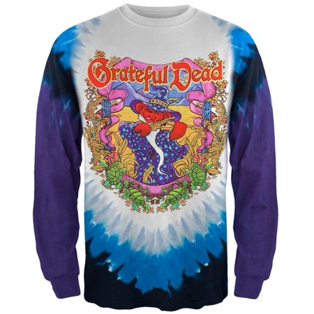 - Grateful Dead - Terrapin Moon Tie Dye Long Sleeve T-Shirt