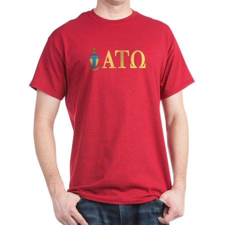 93196a12b6ccd CafePress - Alpha Tau Omega Letters - 100% Cotton T-Shirt - Walmart.com
