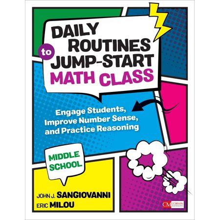 Daily Routines to Jump-Start Math Class, Middle School : Engage Students, Improve Number Sense, and Practice (Following Directions Activities For Middle School Students)
