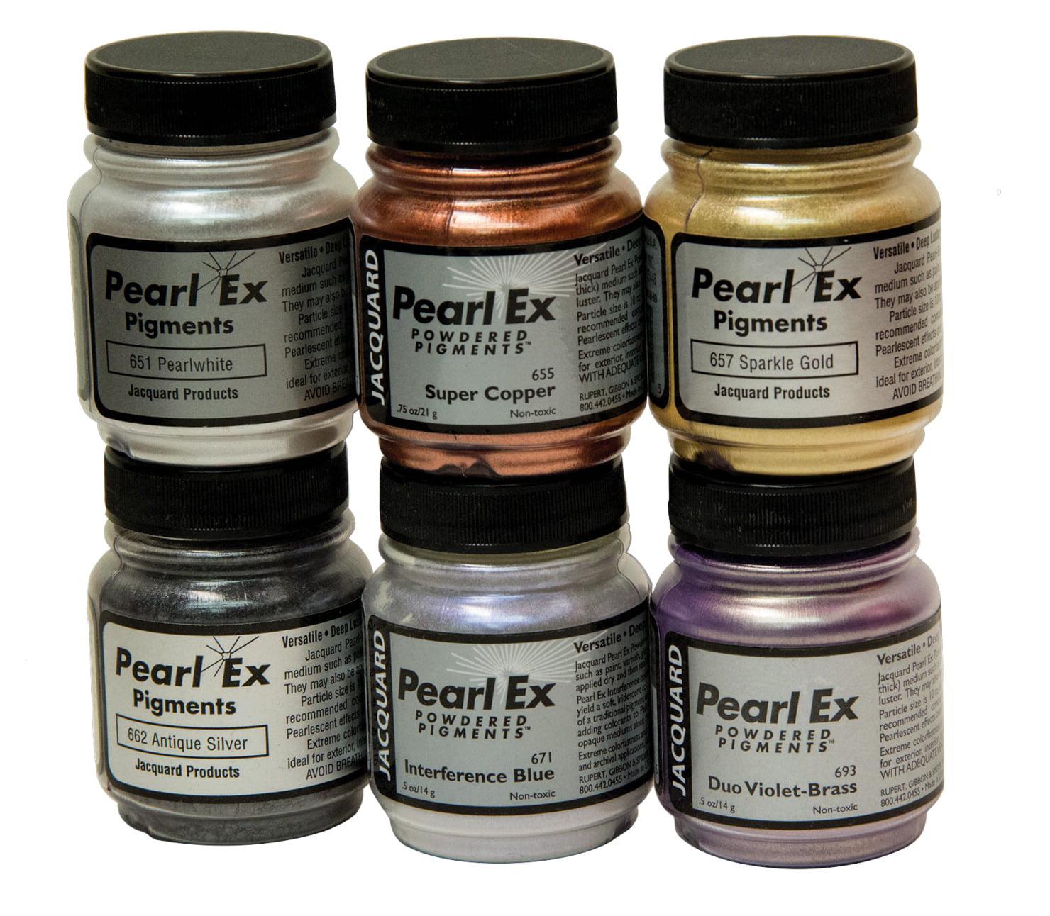 Jacquard Pearl Ex Non Toxic Powder Pigment Set 0 75 Oz