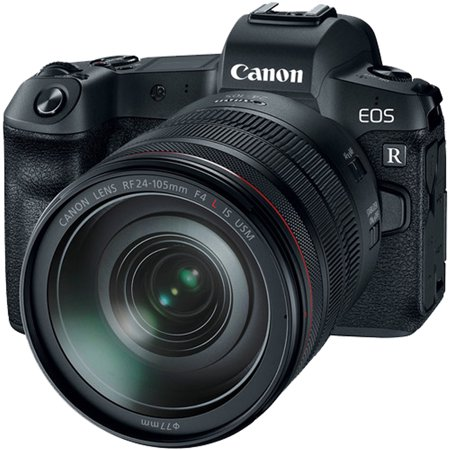 Canon EOS R 30.3MP Mirrorless Full Frame Digital Camera with 24-105mm