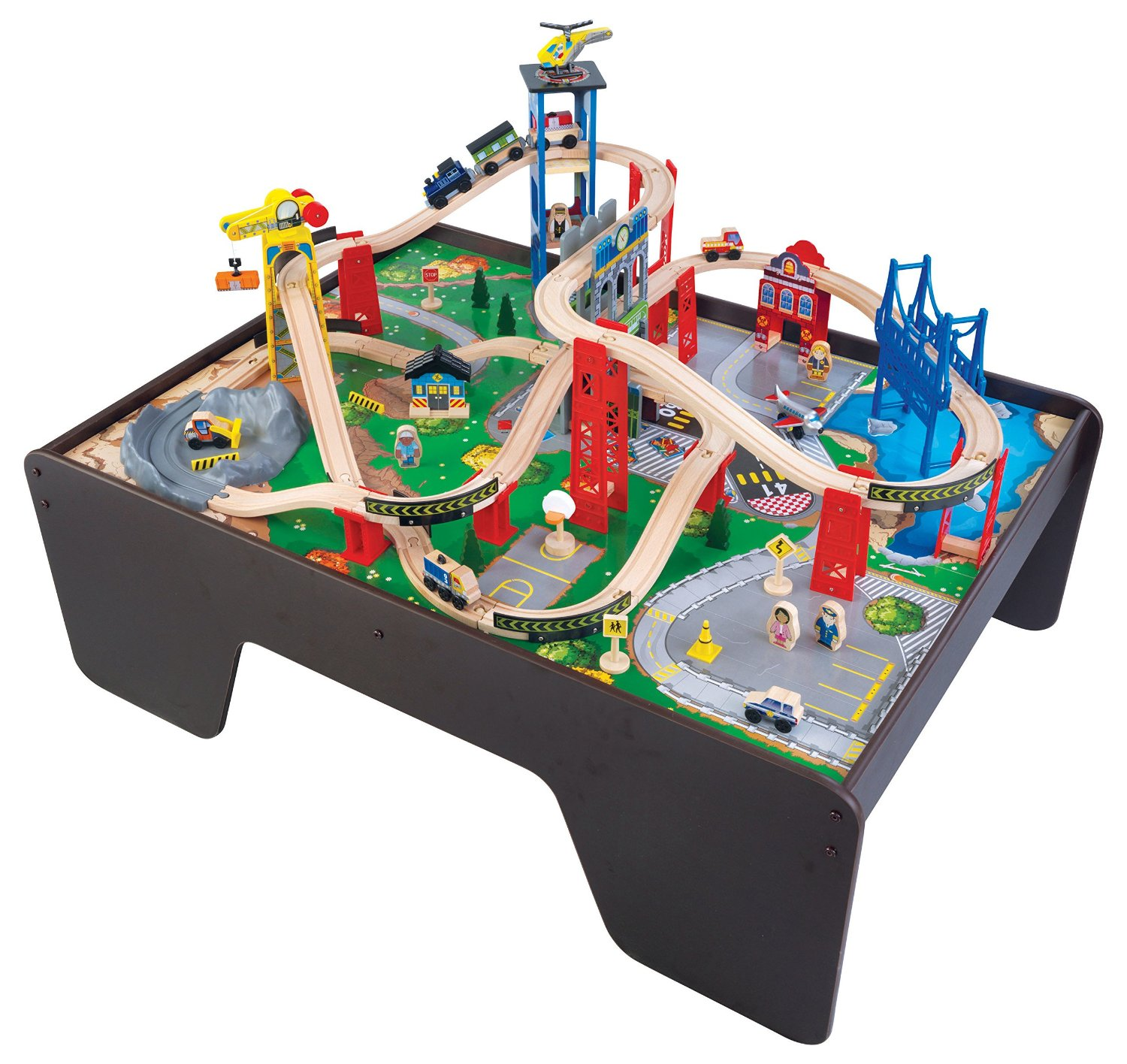 kidkraft super expressway train set table walmartcom