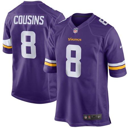 e960d8e66 Kirk Cousins Minnesota Vikings Nike Game Jersey - Purple - Walmart.com