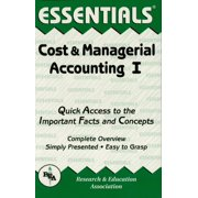 Cost & Managerial Accounting I Essentials - eBook