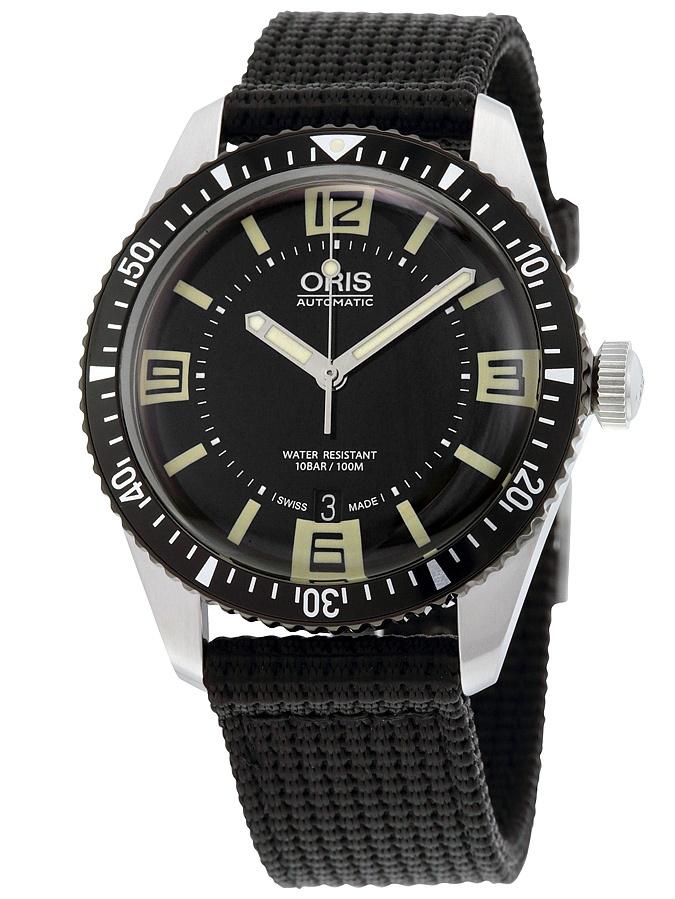 Divers Sixty-Five Black Dial Mens Watch 733-7707-4064BKFS