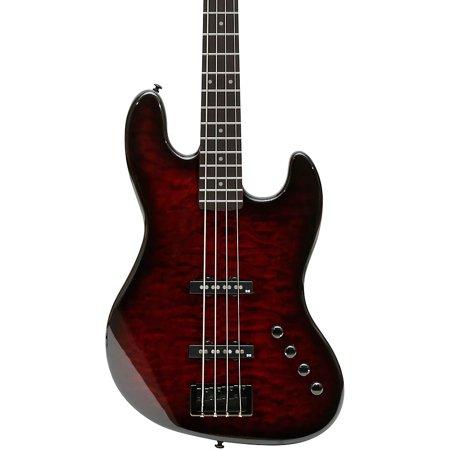 Spector CodaBass 4 Pro Electric Bass Guitar Black Cherry ()