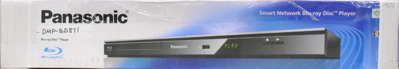 Panasonic DMP-BD871 Blu-ray Player Drivers Update