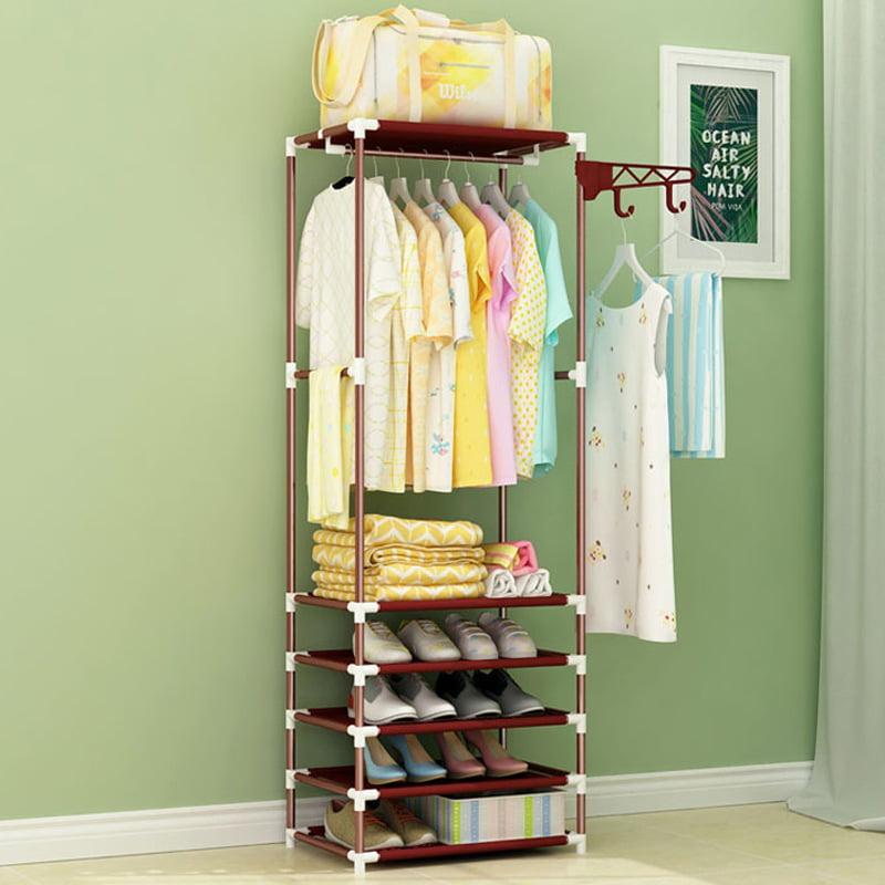 Mintata 360-degree Rotation Hanging Hook Multipurpose Storage Hanger Home Use for Clothes Bag Hat Scarf Color : Grey
