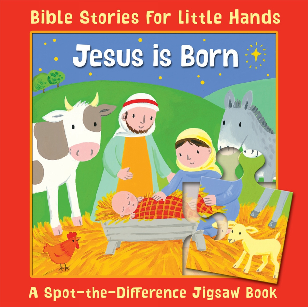 Jesus Is Born : A Spot-the-Difference Jigsaw Book