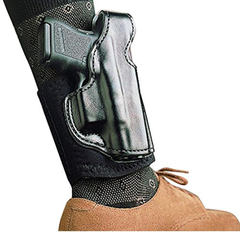 DeSantis Die Hard Ankle Rig for Glock 43, Black, Right Hand by Desantis