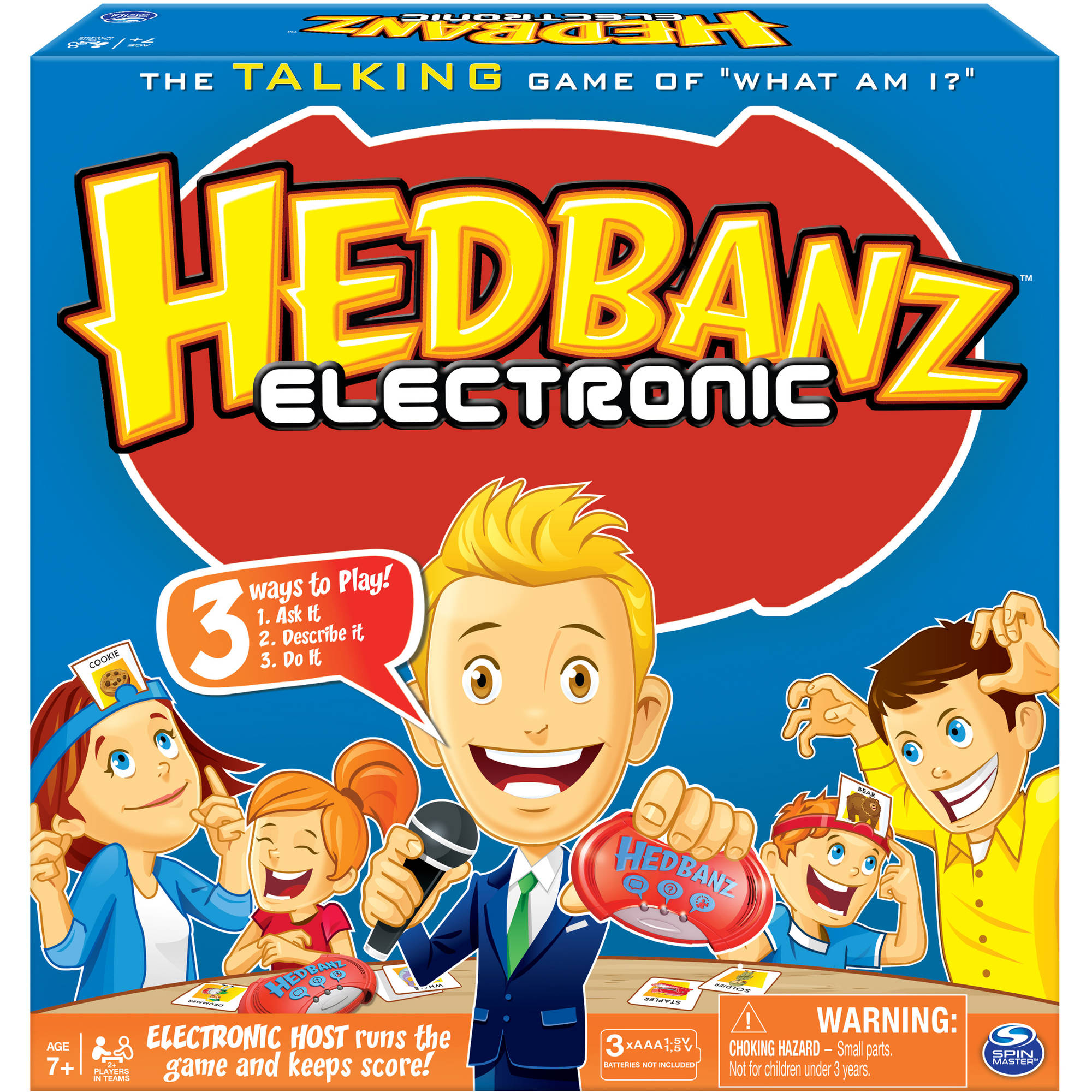 Spin Master Games – Hedbanz Electronic