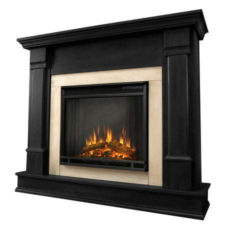 Silverton Electric Fireplace in Black by Real Flame