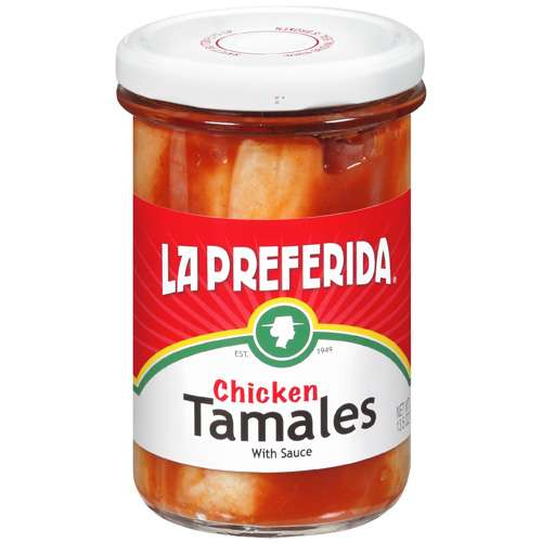 LA Preferida: W/ Sauce Chicken Tamales, 13.5 Oz