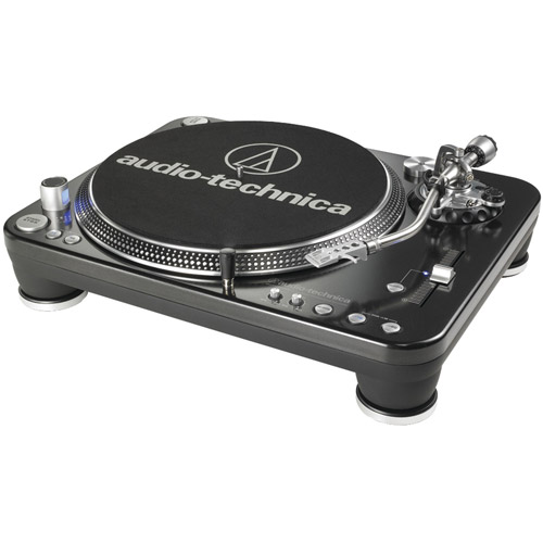 Audio Technica AT-lP1240-USB Professional DJ Turntable by Audio-Technica
