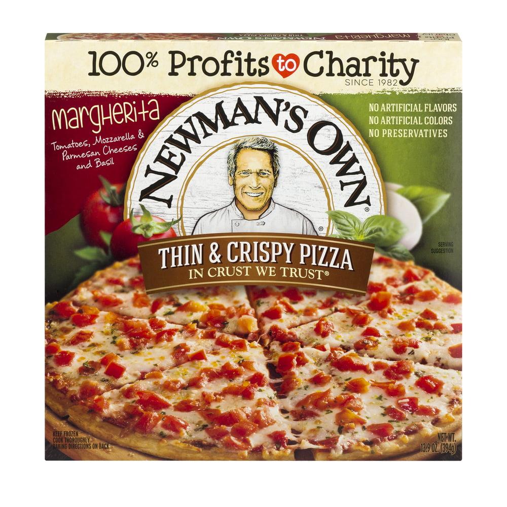 Newman's Own Thin & Crispy Pizza Margherita, 13.9 OZ