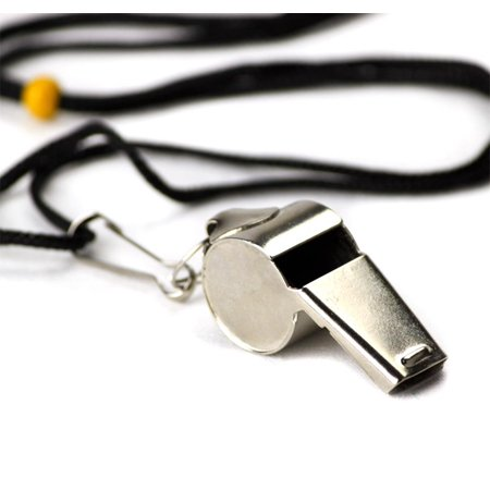 Stainless Steel Coach's Whistle with Lanyard](Coach Whistles)