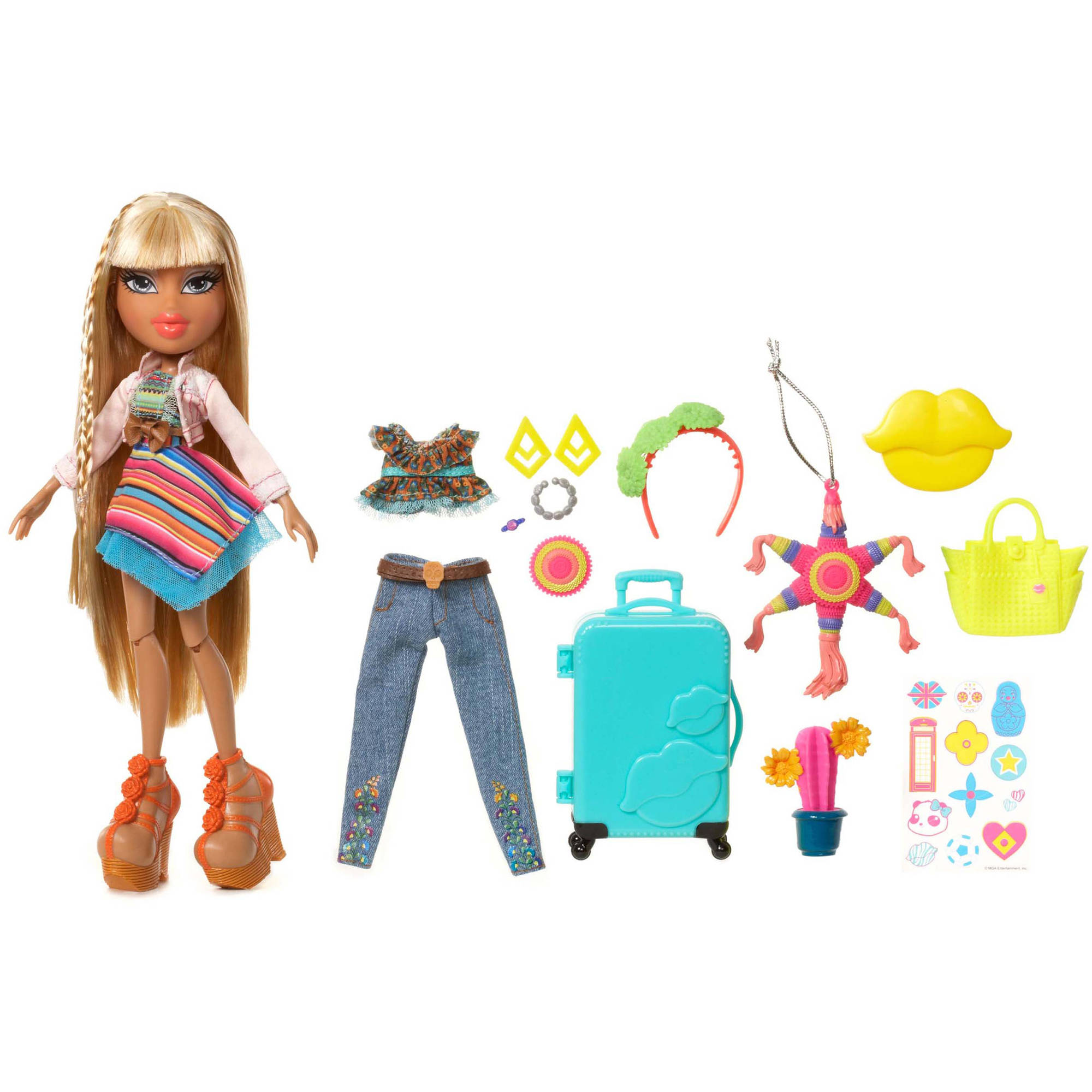 Bratz Study Abroad Doll, Raya to Mexico