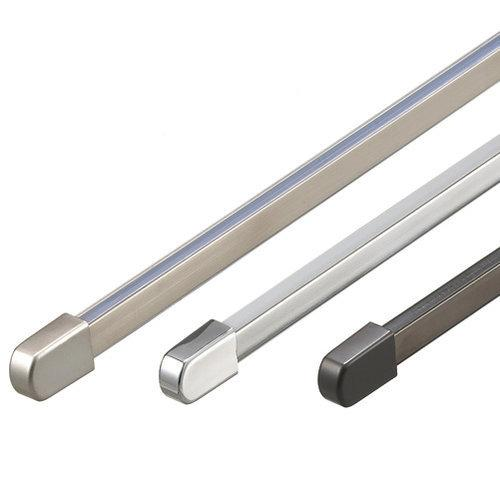 WAC Lighting  LM-T4  Track Lighting  Solorail Track Sections  Indoor Lighting  Track  ;Brushed Nickel