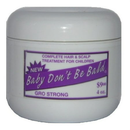 bIy don't be bald gro strong (4oz) - Bald Cap With Hair On Sides