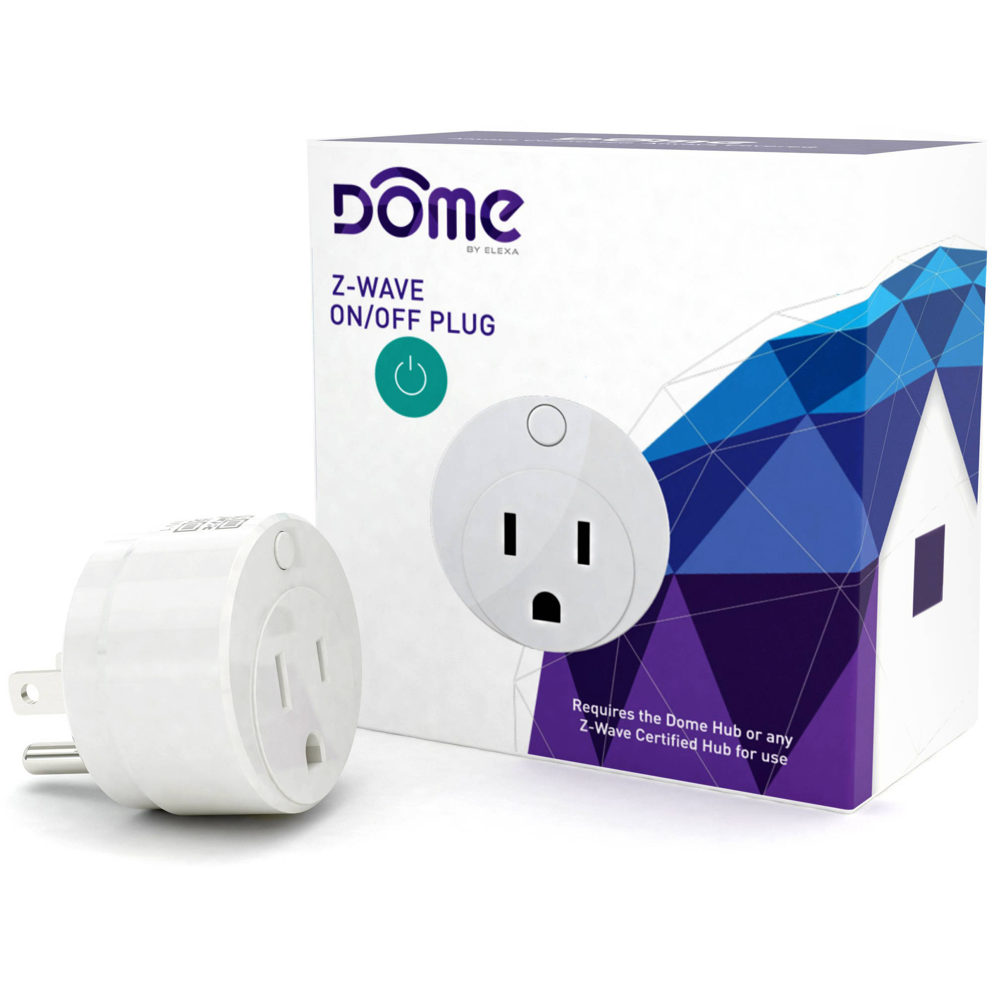 Dome DMOF1 Indoor Smart Plug (1 Outlet), Hub Required