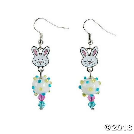 Easter Bunny Earrings Craft Kit