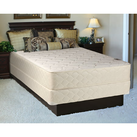 "Dream Solutions Comfort Rest Gentle Firm Queen Size (60""x80""x10"") Mattress and Box Spring Set - Fully Assembled, Orthopedic, Sleep System with Enhance Cushion Support and Longlasting"