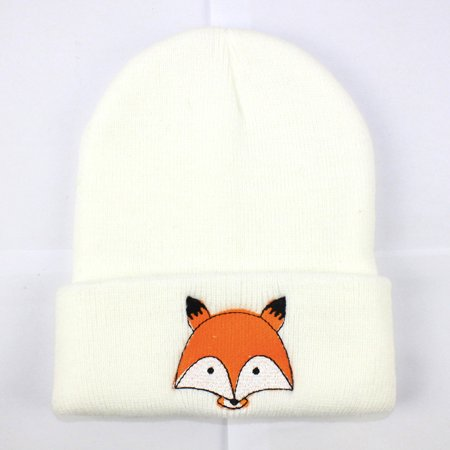 49407b3ad Outtop Fashion Baby Children Cap Fox Warm Winter Hats Knitted Wool Hemming
