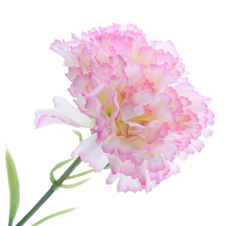 KABOER 2 Pcs Artificial Carnations Silk Flowers Fake Flowers Party Decor Mother's Day Gift