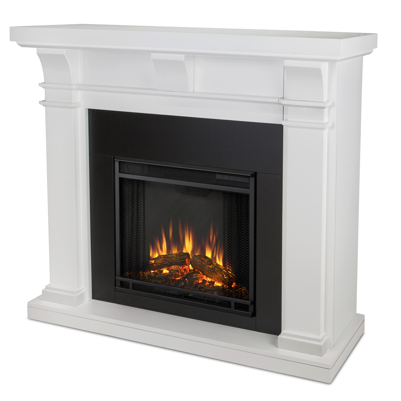 Real Flame Porter Electric Fireplace - White